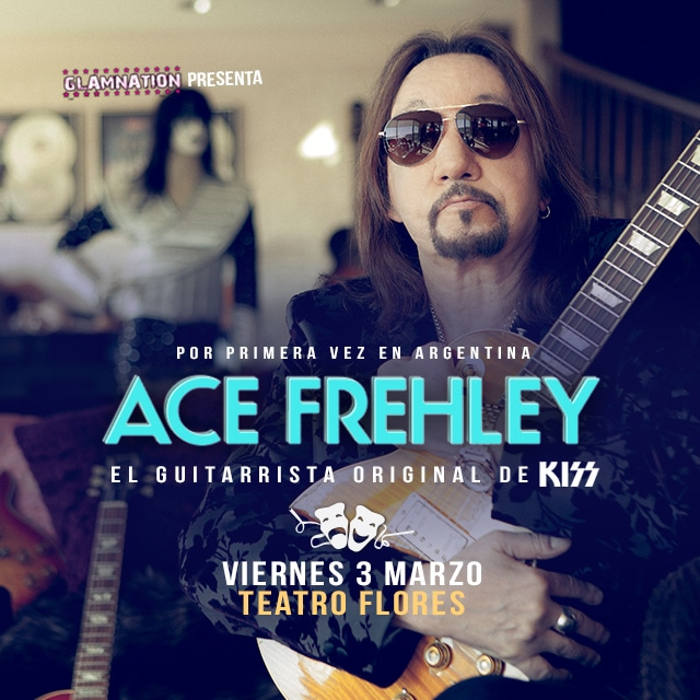 Ace Frehley: Guitarrista de KISS en Teatro Flores