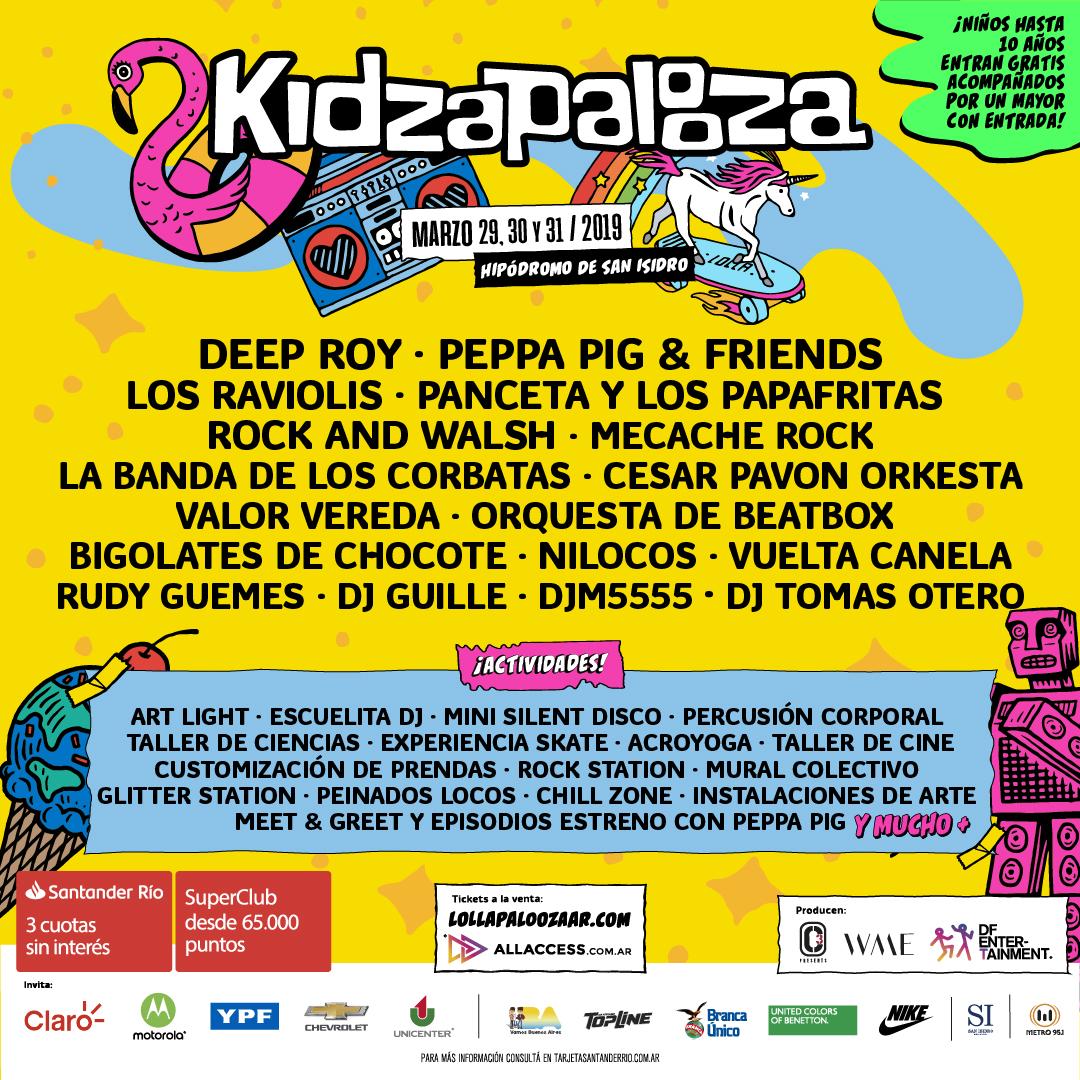 d95d7d2ebfc6 Lollapalooza Argentina tendrá lugar en el Hipódromo de San Isidro los días  29