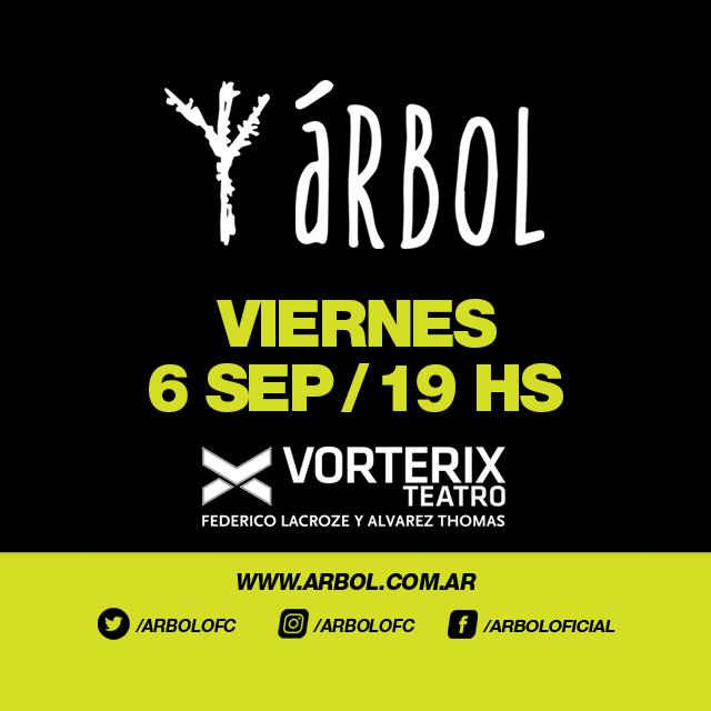 Árbol en Buenos Aires en Teatro Vorterix