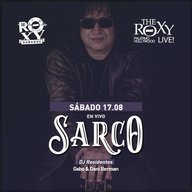 THE ROXY SÁBADOSSARCO EN CONCIERTO Banda Inv.: Rutas Lejanas en The Roxy