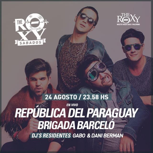 THE ROXY SÁBADOS RDP + Brigada Barceló en The Roxy