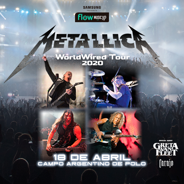 Metallica en Campo Argentino de Polo