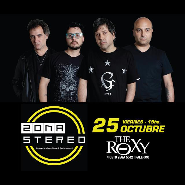 ZONA STEREO en The Roxy