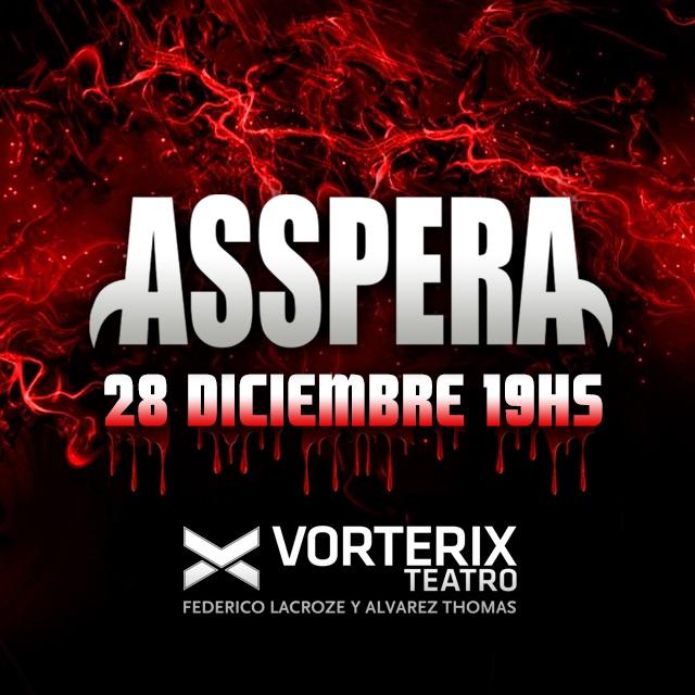 ASSPERA Despedimos un año de terror en Teatro Vorterix