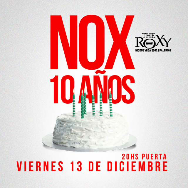 No Extraviar en The Roxy