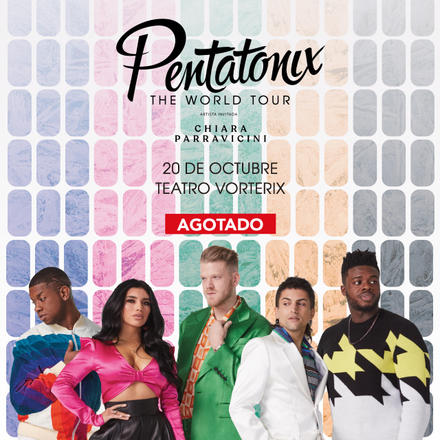 PENTATONIX: The World Tour en Teatro Vorterix