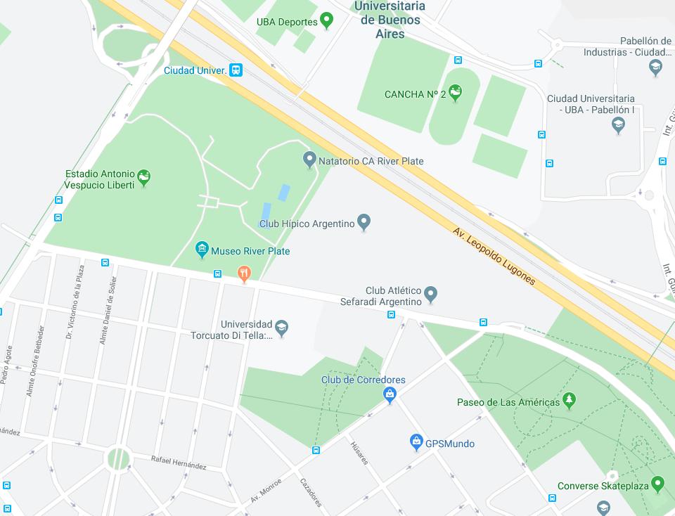 Direccion Estadio Hípico Argentino