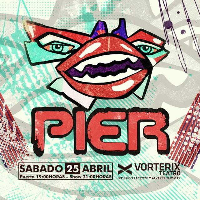 PIER #Pier25Años en Teatro Vorterix