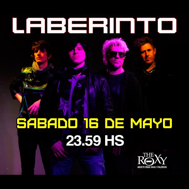 THE ROXY SÁBADOS LABERINTO En Vivo en The Roxy
