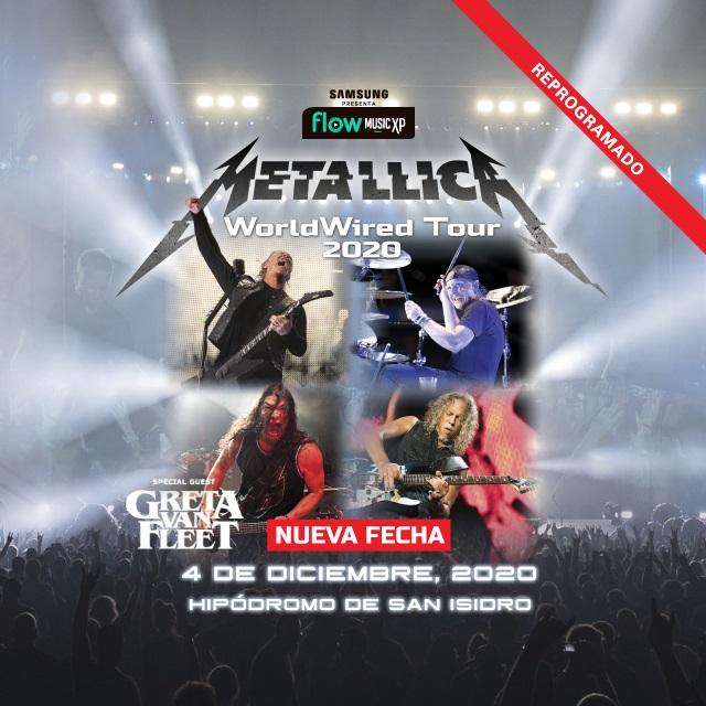 Metallica en Hipodromo de San Isidro