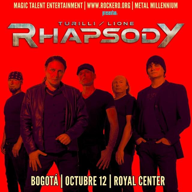 Turilli/Lione Rhapsody En Concierto En Bogotá en Royal Center