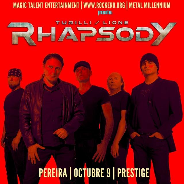 Turilli/Lione Rhapsody En Concierto En Pereira en CENTRO DE EVENTOS PRESTIGE