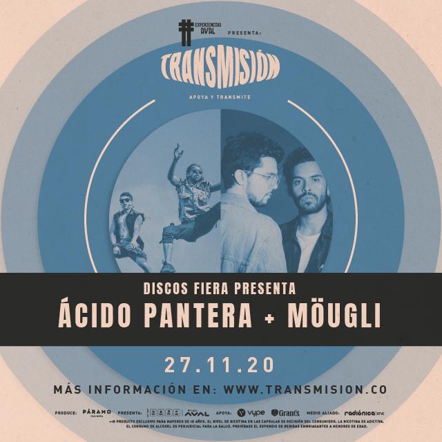 Discos Fiera  presenta: Ácido Pantera + Möugli en Transmision