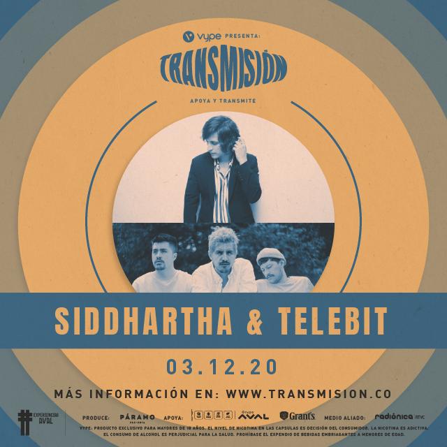 Siddhartha & Telebit en Transmision